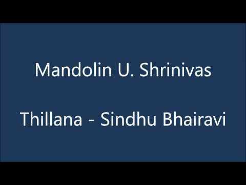Mandolin Shrinivas - Thillana - Sindhu Bhairavi