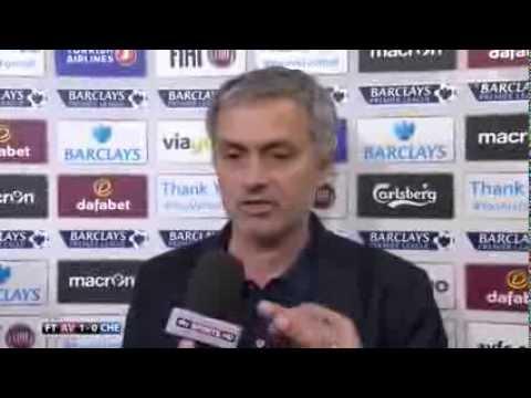 José Mourinho Epic Post Match Interview (Aston Villa 1-0 Chelsea)