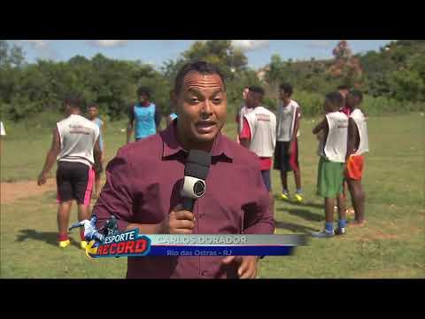 Esporte Record Projeto Social Visa Ajudar Jovens na Baixada Litorânea-Rio das Ostras-RJ
