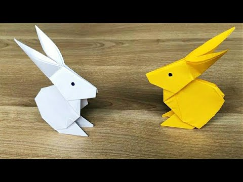 Easy Origami Rabbit   How to make a paper Rabbit