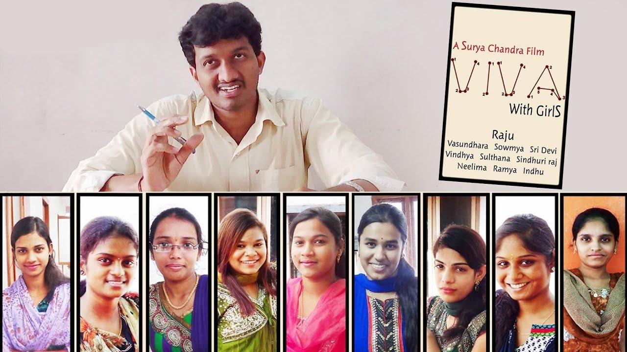 VIVA with Girls | Telugu Comedy Short Film | By Surya Chandra
