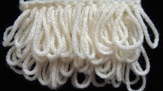 Crochet : Punto Bucle