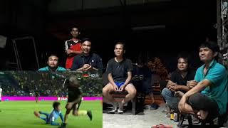 ดูบอลกับทีมงานร้านเหล็ก บุรีรัมย์-อุบล ชนะ4-1 ผ่านเข้ารอบต่อไป #เซราะกราวเมืองชล
