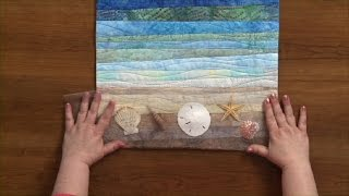 Quilting Strippy Landscapes  |  National Quilters Circle