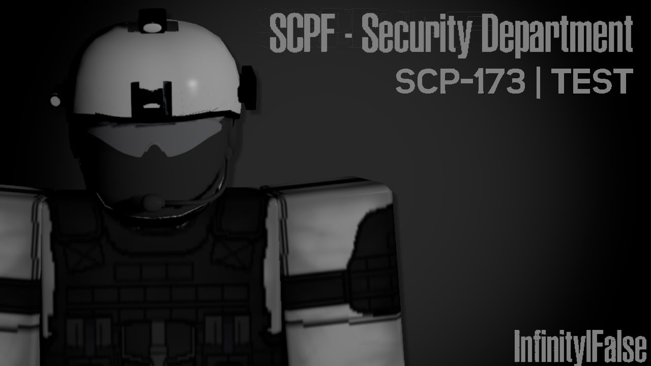 roblox scpf security department  scp-173