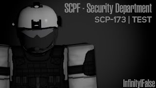 Roblox SCPF Security Department, SCP-173