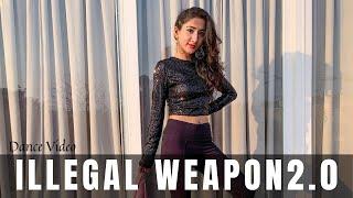 ILLEGAL WEAPON 2.0  - Street Dancer 3D   Dance Video   Varun D, Shraddha K   Muskan Kalra