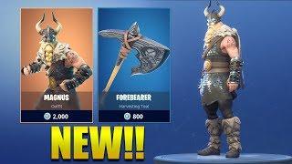 *NEW* MAGNUS SKIN IN FORTNITE!! Fortnite Battle Royale Item Shop 15 July