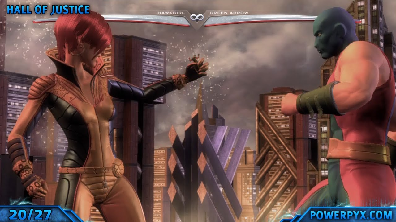 Injustice Gods Among Us All Level Transitions Around the World