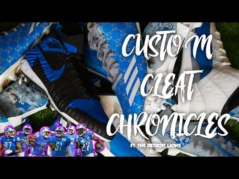 Custom Cleat Chronicles Ep 6 Ft. The Detroit Lions