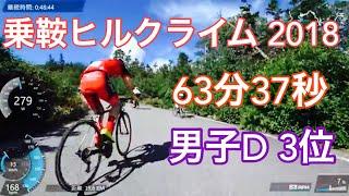 マウンテンサイクルin乗鞍2018 一般男子D 2組
