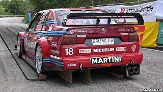 Alfa Romeo 155 DTM V6 Ti EPIC Sound @ 46° Cronoscalata Verzegnis - TURN UP THE VOLUME!