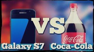 Galaxy S7 против Кока-Колы 24 часа!