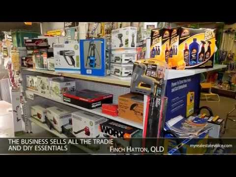 Hardware Store + Plumbing Business + Shed Franchise Business for Sale - Finch Hatton, QLD