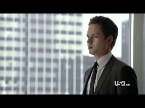 "Suits - Mike,Harvey and Donna Scene 1.09 ""You now I listen"""