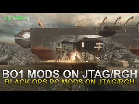 Black Ops 1 PC Mods on Jtag/RGH Xbox 360 Release