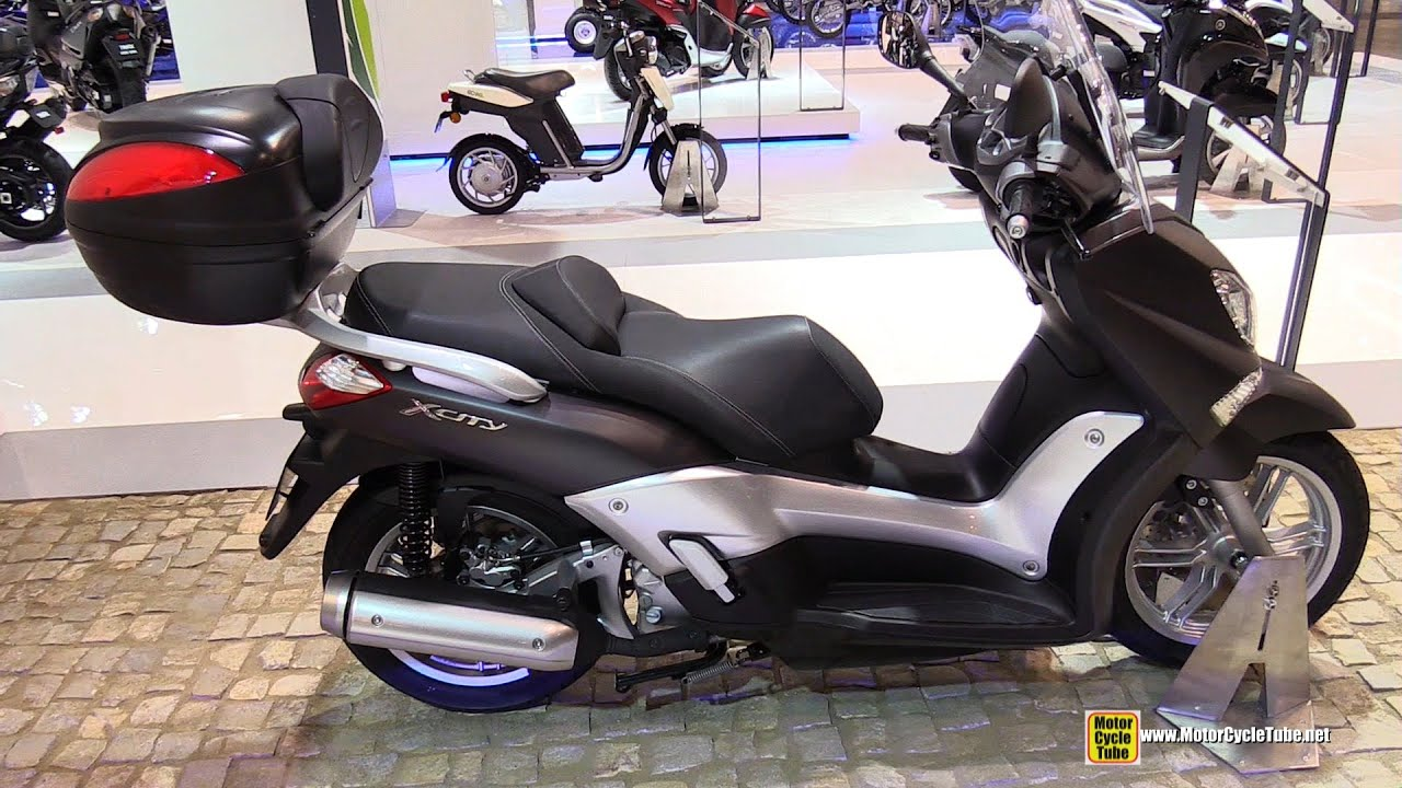 2015 Yamaha X City 250 Scooter Walkaround 2014 Eicma