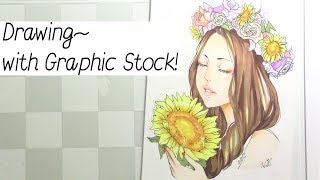 Drawing with Graphic Stock! +Free Trial~