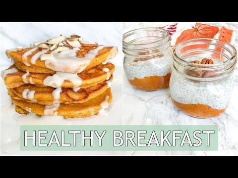 3 Pumpkin Breakfast Recipes | Healthy And Easy
