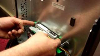how to upgrade change install replace a cd dvd drive in a dell optiplex gx270 gx280 sff desktop