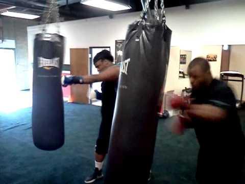 TKO Fitness Tyjuan Hagler NFL boxing