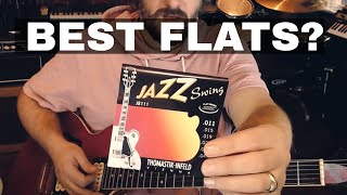 Trying Flatwound Guitar Strings Again - Thomastik Infeld Jazz Swing 11-47 JS111