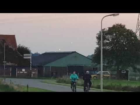nouvel ordre mondial   Des OVNI filmés dans la province de Overijssel, aux Pays-Bas