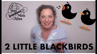 Children's Song: Two Little Blackbirds - Preschool Sing & Move Along Song - Kids Activity
