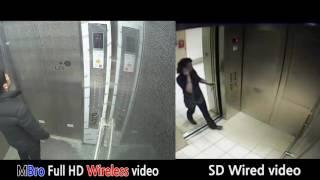 Elevator CCTV comparative video