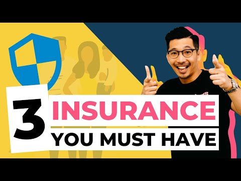 INSURANCE【3 INSURANCE YOU MUST HAVE】  Insurance Policy   Takaful Malaysia
