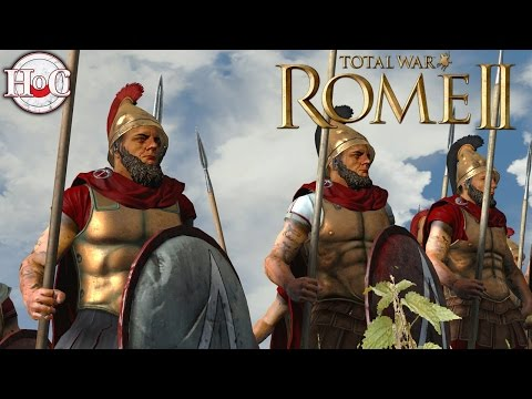Greek Throwdown - Total War Rome 2 Online Battle Video 374