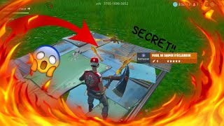 KNOW FORTNITE GRACE'S SECRET SNIPER To THIS MAP!!