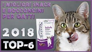 I Migliori 🔥 Snack E Bocconcini Per Gatti 😸 TOP-6 🔥
