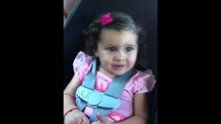 funny baby dancing Shakira and scream and shout
