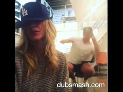 Katie Cassidy DUBSMASH #1