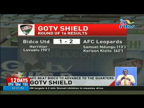 AFC beat Bidco to advance to the GOTv shield quarters
