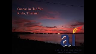 Had Yao, Krabi, Thailand Sunrise