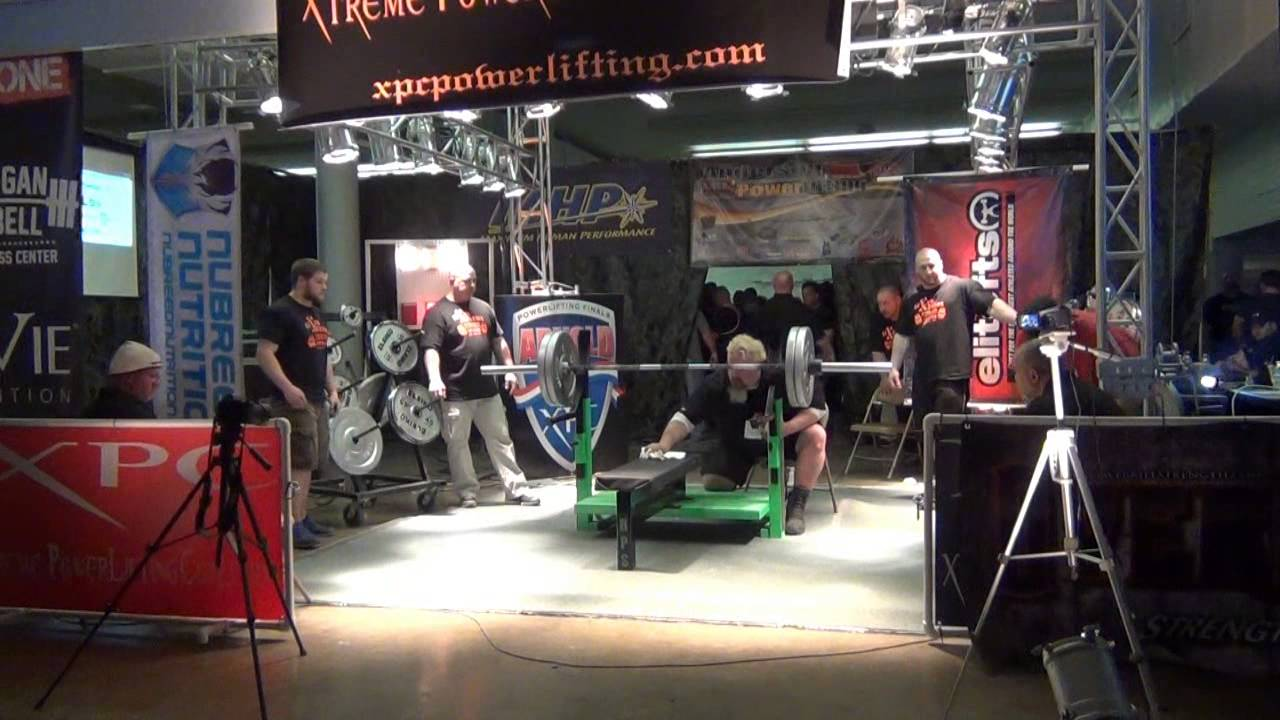 arnold powerlifting meet