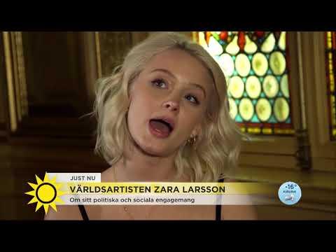Zara Larsson: Så blev jag feminist - Nyhetsmorgon (TV4)