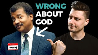 Dr. Neil DeGrasse Tyson is 100% WRONG About God