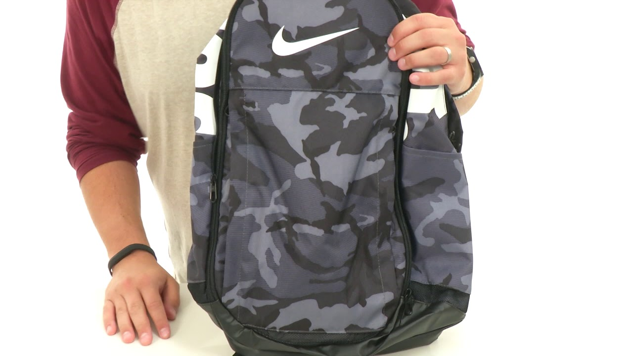 ff80f5347c25d Nike Brasilia XL Backpack - GFX SKU  8900197 - YouTube