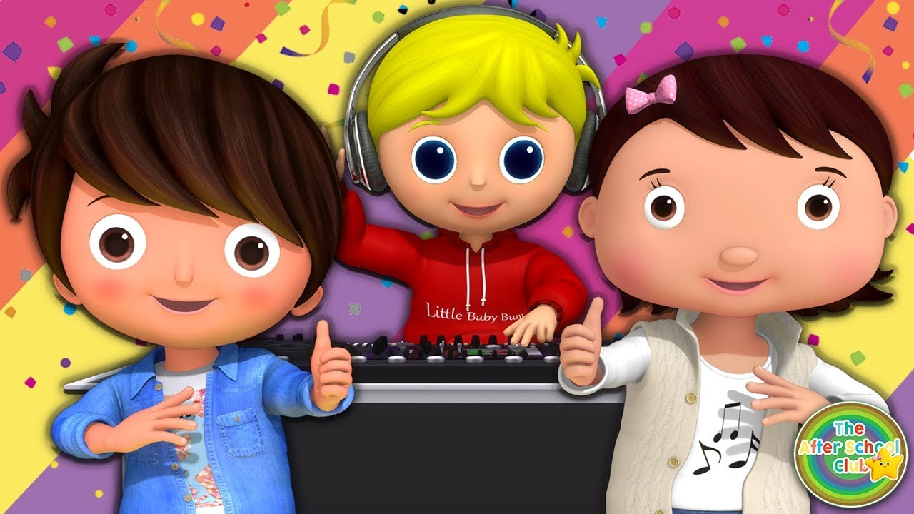 Just Dance! | Party Songs For Kids | Little Baby Bum | ABCs and 123s