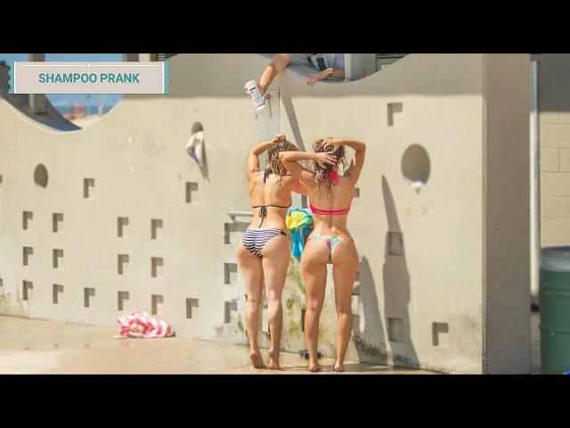 Shampoo Prank Broma épica Del Shampoo Infinito En La Playa Youtube