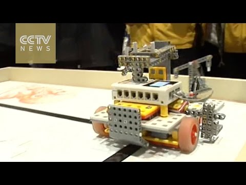 World Educational Robot finals in Shanghai