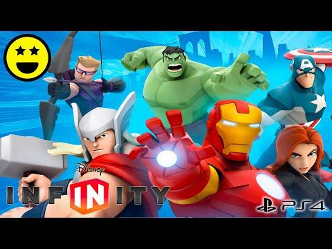 new concept f7f8d ab822 Gli AVENGERS - Giochi di Supereroi di Cartoni Animati in Italiano per  Bambini Disney Infinity 2.0