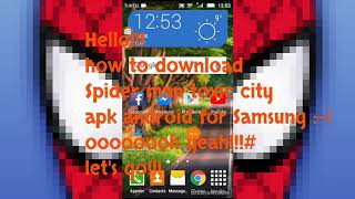how to download Spider man toxic city apk android for Samsung.