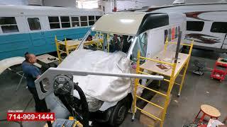 Mercedes Sprinter Van High Roof Collision Repair Shop