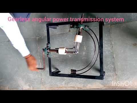 Gearless Angular Power Transmission System