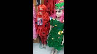Видео Оптом новогодние карнавальные костюмы сделано в Киргизии от 380 рублей