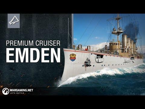 Premium Ship Spotlight - Cruiser Emden